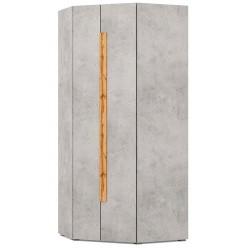 Угловой шкаф для одежды и белья Римини 2025