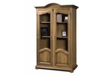 Шкаф для книг 1240 Давиль ММ-126-16 (медовый дуб+зп)