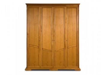 Шкаф для одежды Лика ММ-137-01/04Б (медовый дуб+зп)