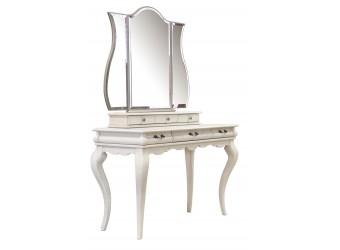 Стол туалетный Оскар ММ-216-06 (белая эмаль+пт)