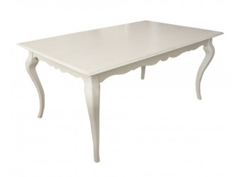 Стол обеденный Оскар ММ-210-40 (белая эмаль+пт)