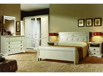 Спальня Лика (белая эмаль)
