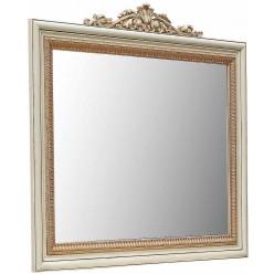 Зеркало «Альба 13» П524.13к (слоновая кость с золочением)