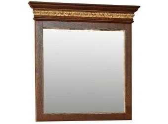 Зеркало настенное «Милана 13» П294.13 (черешня с золочением)