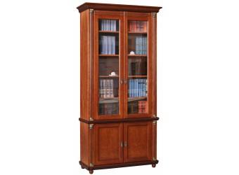 Книжный шкаф «Валенсия 2» П444.22 (каштан)