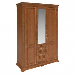 Шкаф «Верди Люкс» П434.10 (черешня)