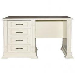 Письменный стол «Верди Люкс 9» П432.14 (слоновая кость)
