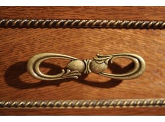 Стол письменный «Алези» П 395.04 Р-46 (античная бронза)