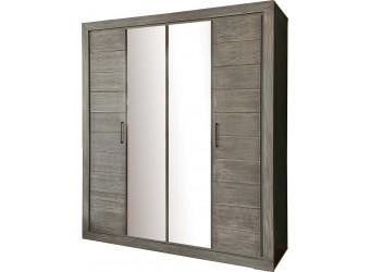 Шкаф для одежды 4д Байс 2632-01Бр