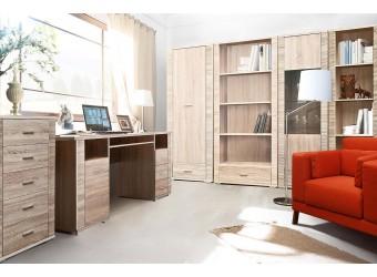 Домашний кабинет «Гресс» (дуб сонома светлый)