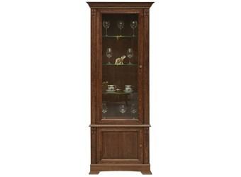 Шкаф-витрина «Пьемонт» П518.26 (табак)