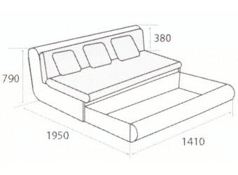 Модуль дивана Kormak (Кормак) 140Я