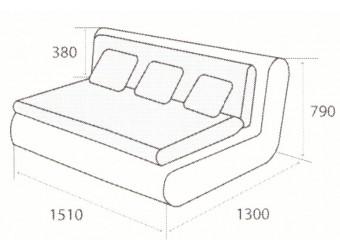 Модуль дивана Kormak (Кормак) 150Н правый