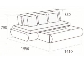 Модуль дивана Kormak (Кормак) 180Я левый