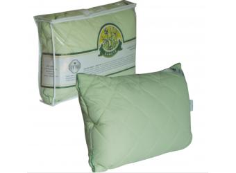 Подушка (микрофибра) стеганная на бамбуковом волокне