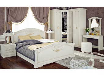Спальный гарнитур «Лючия» 1 (Штрихлак) ГН-235.001