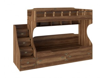 Набор детской мебели «Навигатор» 2 (Дуб Каньон) ГН-250.002