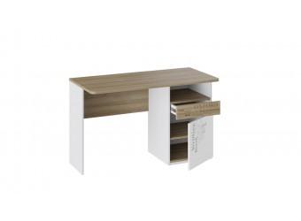 Набор детской мебели «Оксфорд» 2 (Ривьера/Белый с рисунком) ГН-139.002
