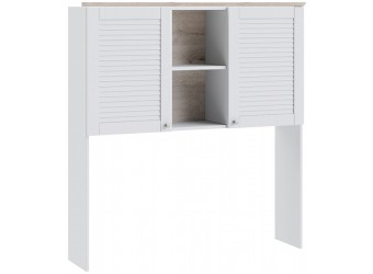Набор детской мебели «Ривьера» №3 (Дуб Бонифацио/Белый) ГН-241.103
