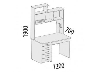 Компьютерный стол Британия 52.14