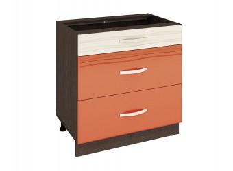 Шкаф кухонный напольный Оранж 09.92 (с системой плавного закрывания)