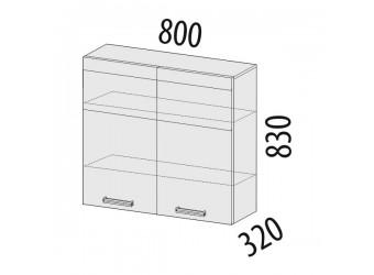 Навесной кухонный шкаф Палермо 08.11