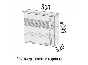 Шкаф-сушка кухонный Софи 22.02