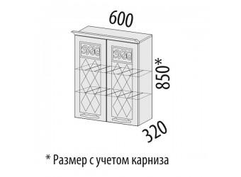 Шкаф-сушка кухонный Тиффани 19.01