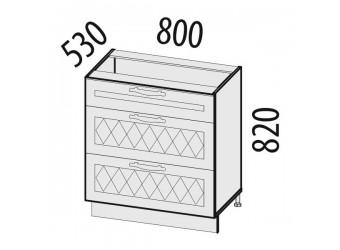 Шкаф кухонный напольный Тиффани 19.92 (с системой плавного закрывания)