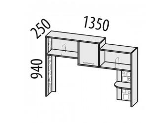 Надстройка для компьютерного стола Мегаполис 55.19