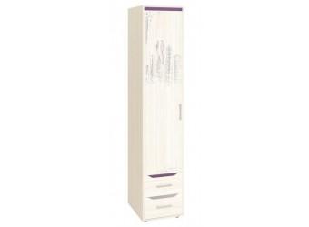 Шкаф-пенал для одежды Мегаполис 55.22 левый