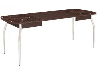 Раздвижной обеденный стол Орфей 30.10 дуб венге