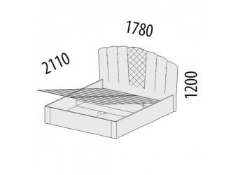 Двуспальная кровать Версаль 99.21 с подъемным механизмом