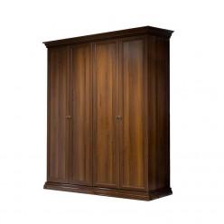 Четырехстворчатый шкаф для одежды Амели АМШ2/4 (ноче)