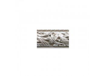 Тумба-витрина для посуды Тиффани Премиум ТФП-3(П) (слоновая кость, серебро)