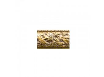Тумба-витрина для посуды Тиффани Премиум ТФП-3(П) (слоновая кость, золото)