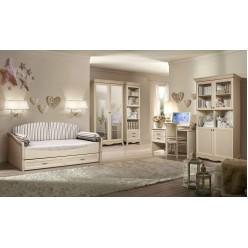 Мебель для детской Амели 3 (штрих-лак)