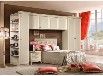 Мебель для детской Амели 4 (штрих-лак)