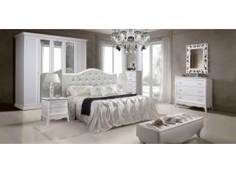Спальня Амели 2 (выбеленный дуб)