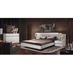 Спальня Челси Элеганс (выбеленный дуб, серый)