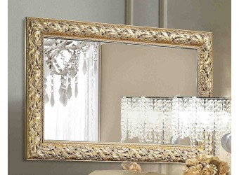 Настенное зеркало Тиффани Премиум ТФ/01(П) (золото)