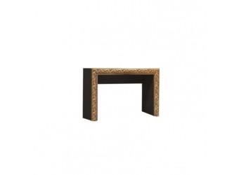 Туалетный столик Тиффани Премиум ТФСТ-1(П) (черный, золото)