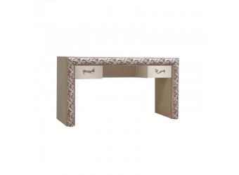 Туалетный столик Тиффани Премиум ТФСТ-2(П) (слоновая кость, серебро)