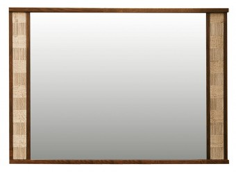 Зеркало настенное «Тунис» П344.03 (венге с золочением)