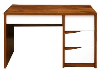 Письменный стол Монако П 510.15-1 (дуб саттер/белый глянец)